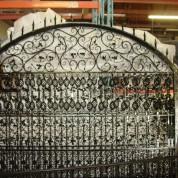 Ornamental Gate Powder Coated