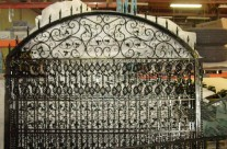 Ornamental Gate Powder Coated