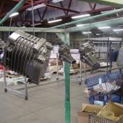 Engine Parts – Masked and Powder Coated